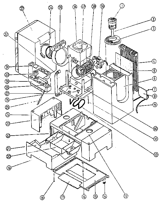 Kenmore Humidifier Parts