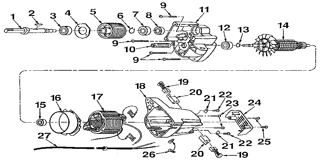 Rm871 Motor Parts