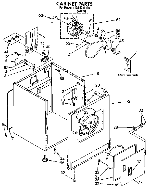Whirlpool Kenmore Dryer Model Ler5848eq2 Wiring Diagram