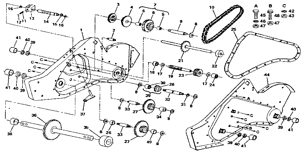 TRANSMISSION Diagram & Parts List for Model 917299880