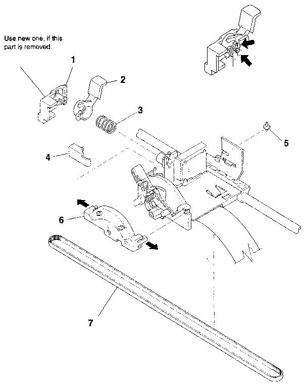 CARRIAGE PART (2) Diagram & Parts List for Model bj200