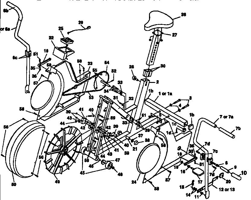 dp exercise bike manual