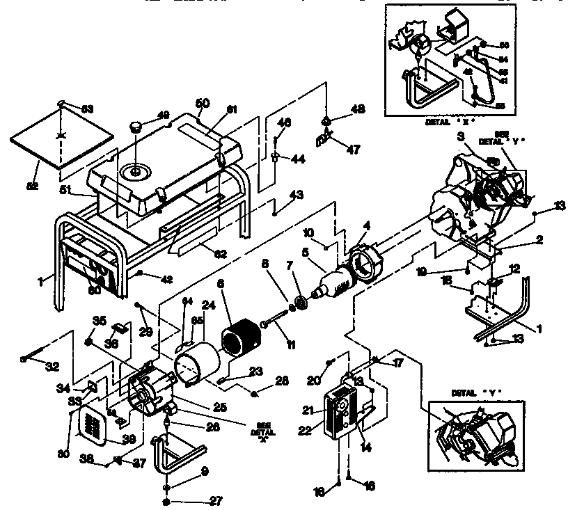 Generac Engine Parts And Generac Engine Parts Diagrams