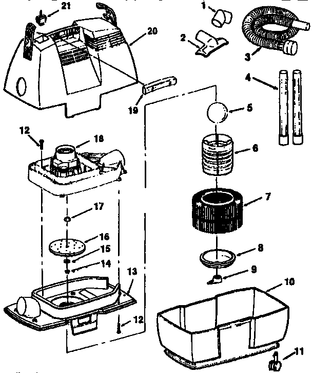 Vacuum Parts: Craftsman Vacuum Parts