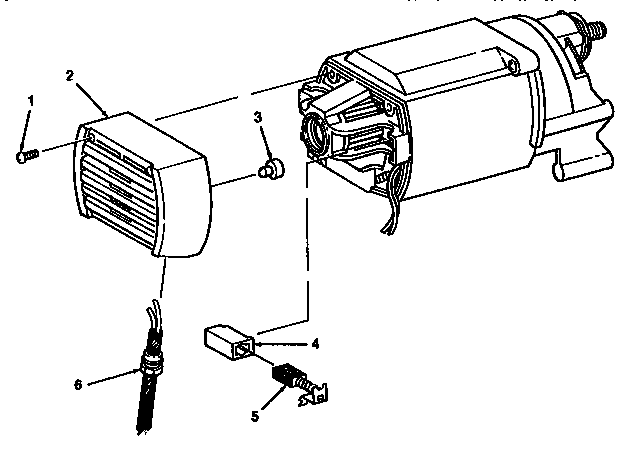 MOTOR ASSEMBLY Diagram & Parts List for Model 113221720