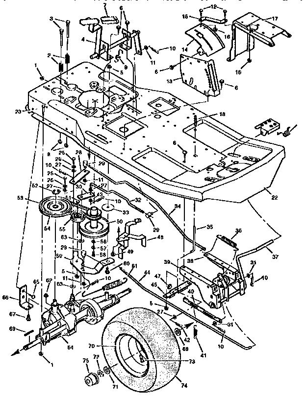 Craftsman 917 273061 Parts Diagram, Craftsman, Free Engine