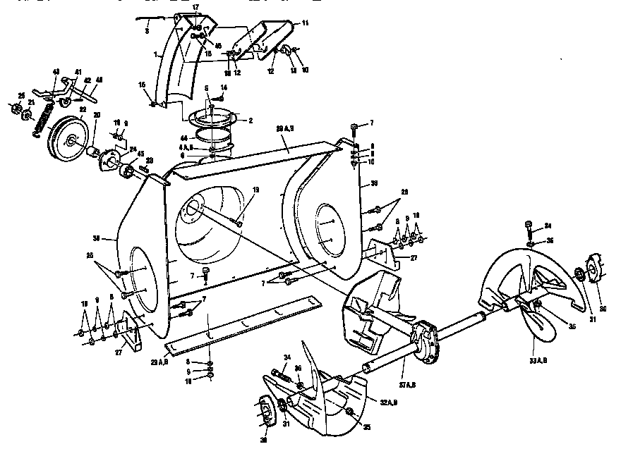 Ariens Snowblower Engine Diagram Ariens Snowblower Gear