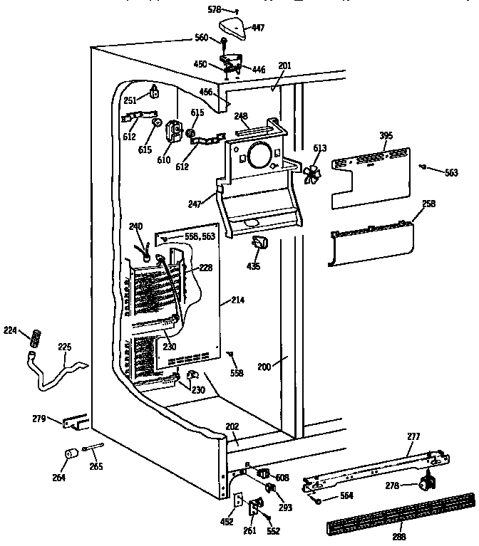 Kenmore side x side refrigerator model 363.9530713