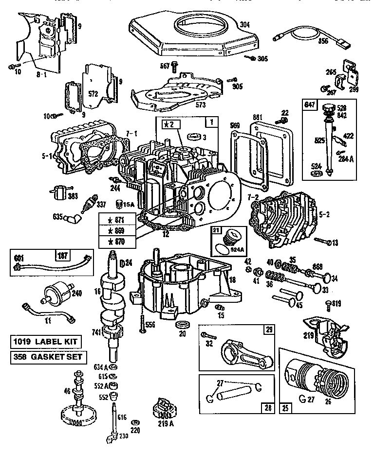 Briggs And Stratton 422707 Diagram. Wiring. Wiring Diagram