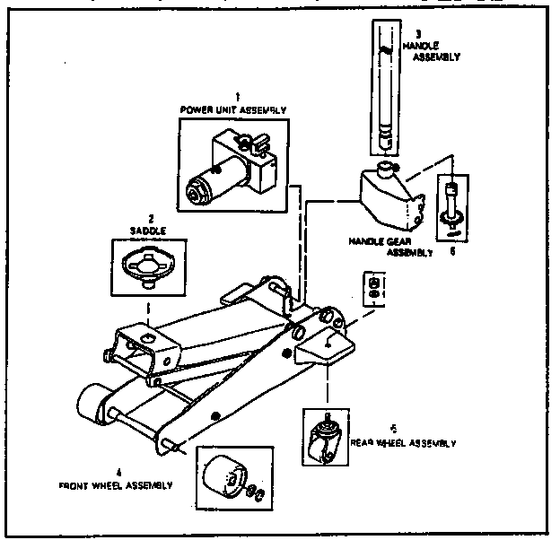 UNIT PARTS Diagram & Parts List for Model 875501152