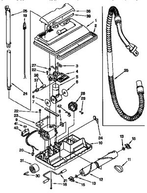 KENMORE POWER MATE Parts | Model 1165441190 | Sears