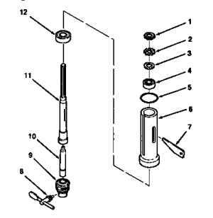 SPINDLE ASSEMBLY Diagram & Parts List for Model 113213151
