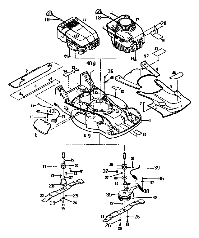 Wiring Diagram And Parts List For Troybilt