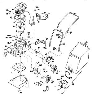 CRAFTSMAN CHIPPER  VAC Parts   Model 987799601   Sears PartsDirect