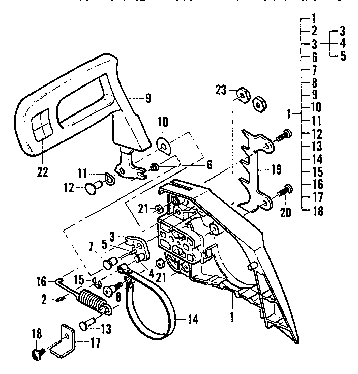 Diagram Diagram Mac 3216 Chainsaw