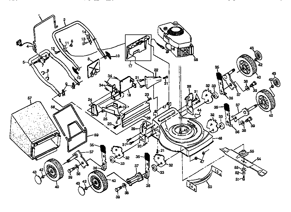 Craftsman Lawn Tractor Repair Parts Manual : Pursued : A