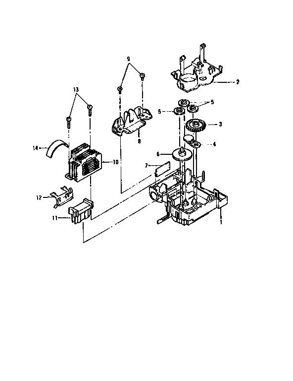 BROTHER Impact Dot Matrix Printer Tractor mechanism Parts
