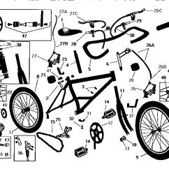 Bike Parts Diagram 2008 Hyundai Santa Fe Wiring On Shoppinder List For Model R3866sr Roadmaster Bicycle