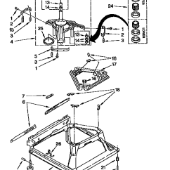 Kenmore 70 Series Washer Diagram Fisher Minute Mount 2 Plow Wiring Model 11092588410 Residential Washers Genuine Parts