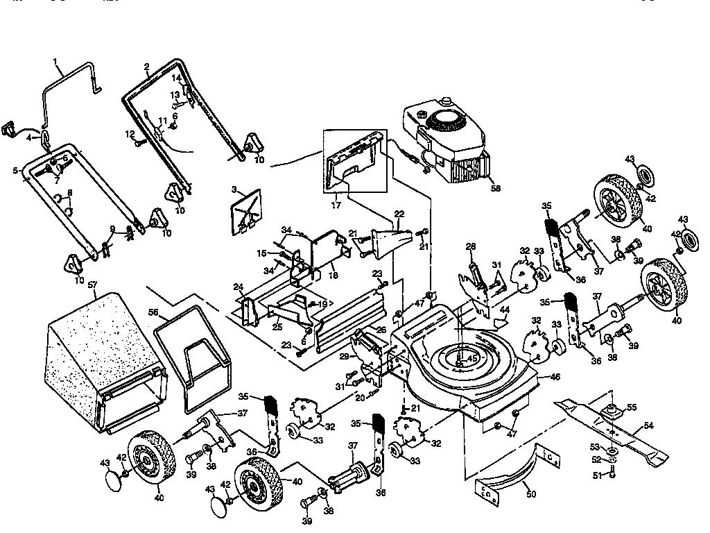Craftsman Lawnmower American Yard Carburetor Parts Model