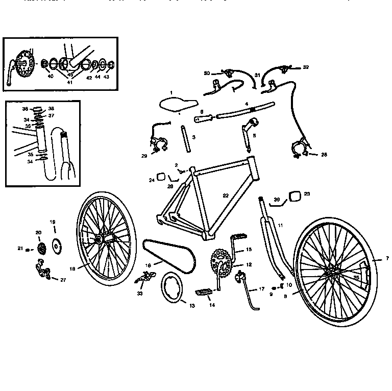 bike parts diagram horse trailers for sale in texas roadmaster model 3810srb bicycles genuine