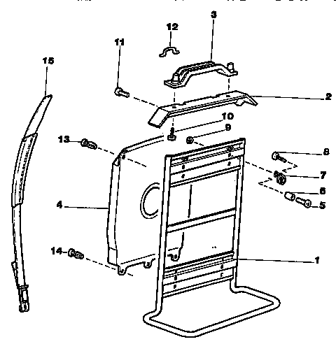 BACKPACK ASSEMBLY Diagram & Parts List for Model 358796790