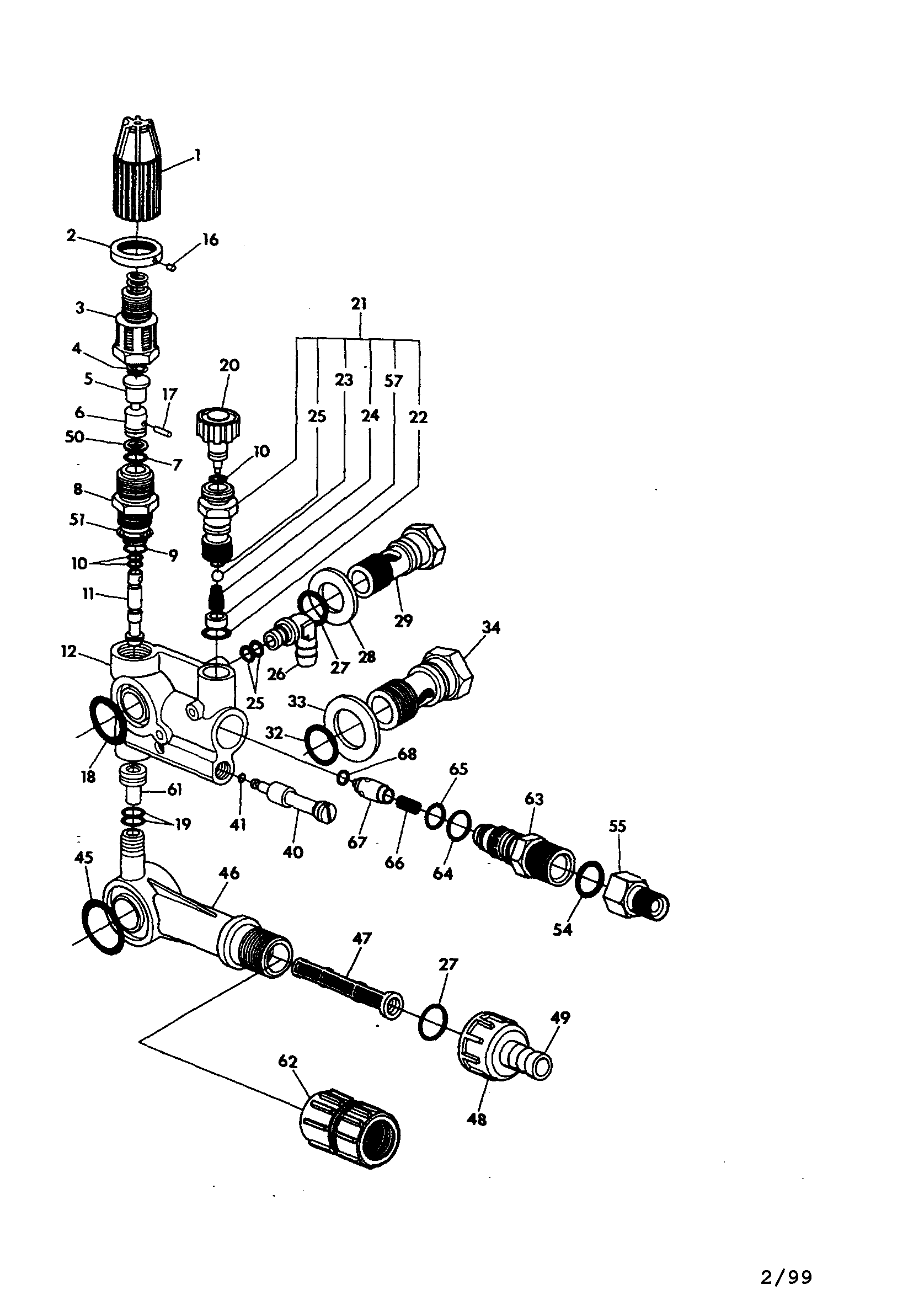 craftsman pressure washer pump parts diagram yard machine mower 5hp 1800psi assembly