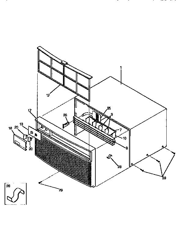 Whirlpool Window Air Conditioner Wiring Diagram