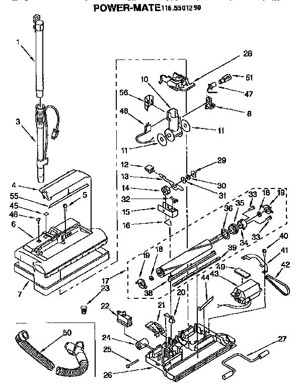 Vacuum Parts: Kenmore Canister Vacuum Parts