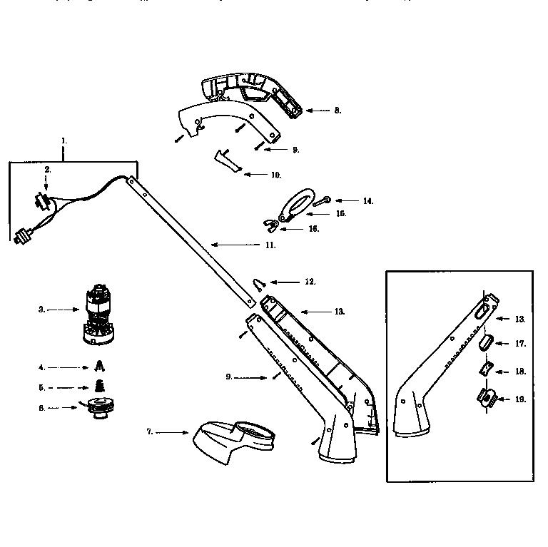 Craftsman Weedwacker Crankcase Parts Model 358796260