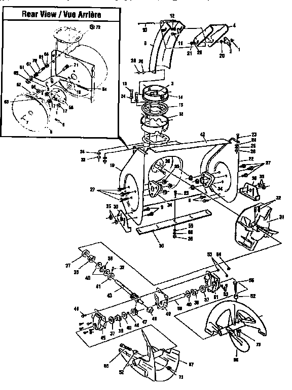 Sears Craftsman Snowblower Parts Diagram