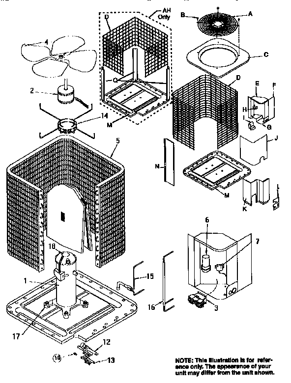 Parts Of Central Air Conditioning System Diagram
