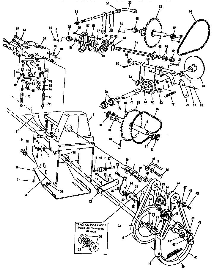 Snow Blower Schematics