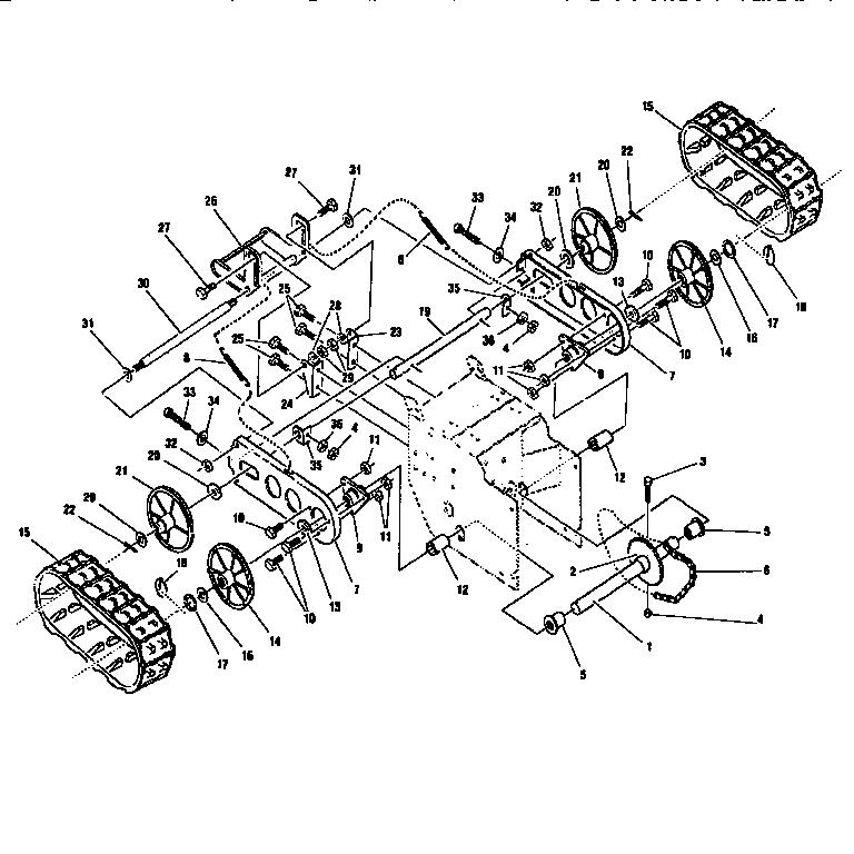 Parts List Manual Craftsman Snowblower Model 950-52120-2