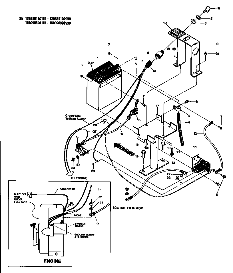 Wiring Diagram For Troy Bilt Solenoid