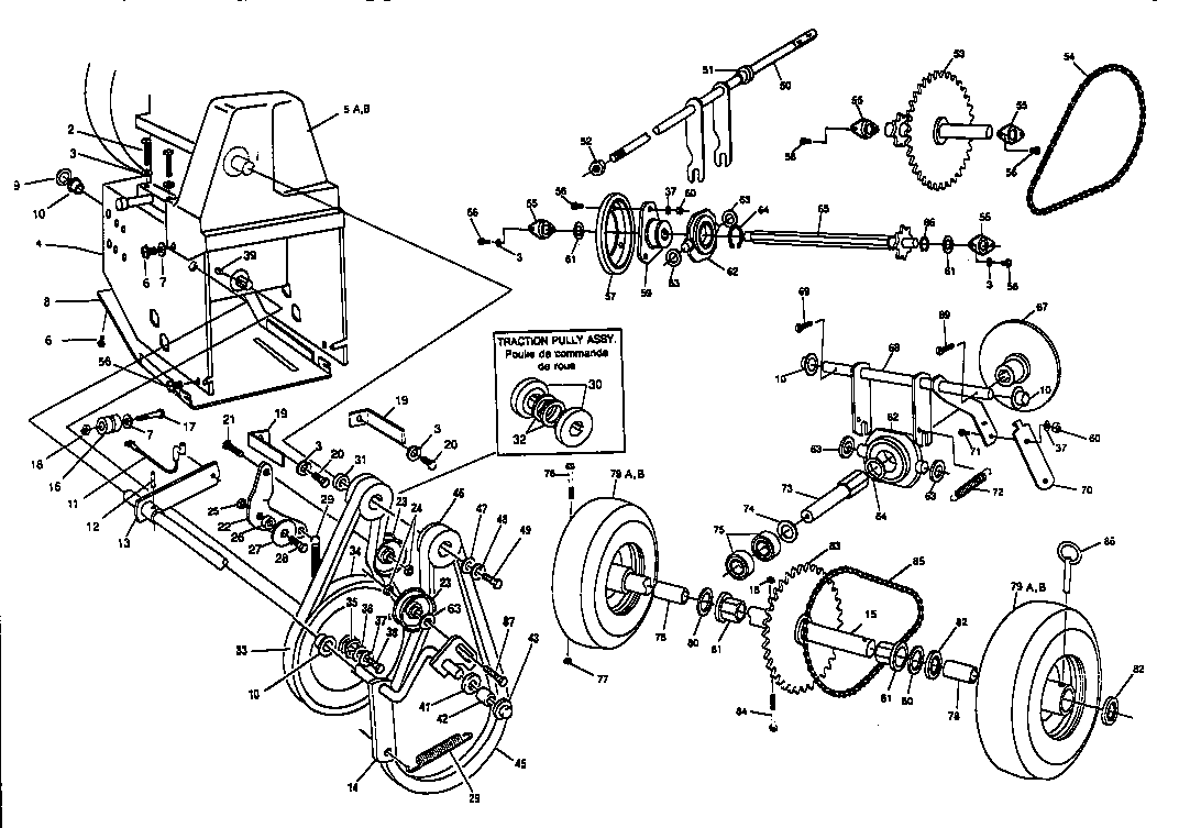 MOTOR MOUNT ASSEMBLY Diagram & Parts List for Model