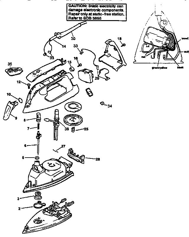 Black And Decker Model Hhvj320bmf61