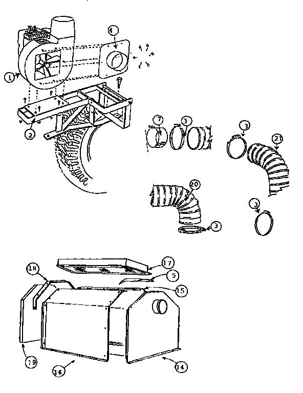 Vacuum Parts: Lawn Vacuum Parts
