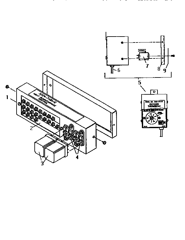 COLEMAN / EVCON IND. CONTROLS HEATING AND COOLING Parts