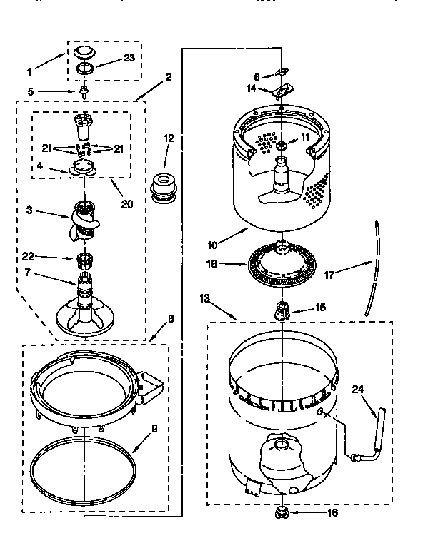 sears model 110 parts diagram rs232 to rs485 wiring kenmore 11026892690 residential washers genuine