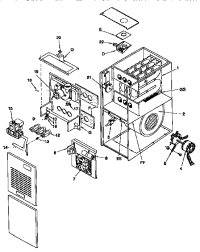 Comfortmaker Furnace Parts Diagram