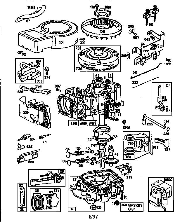 34 Briggs And Stratton 175 Hp Engine Parts Diagram