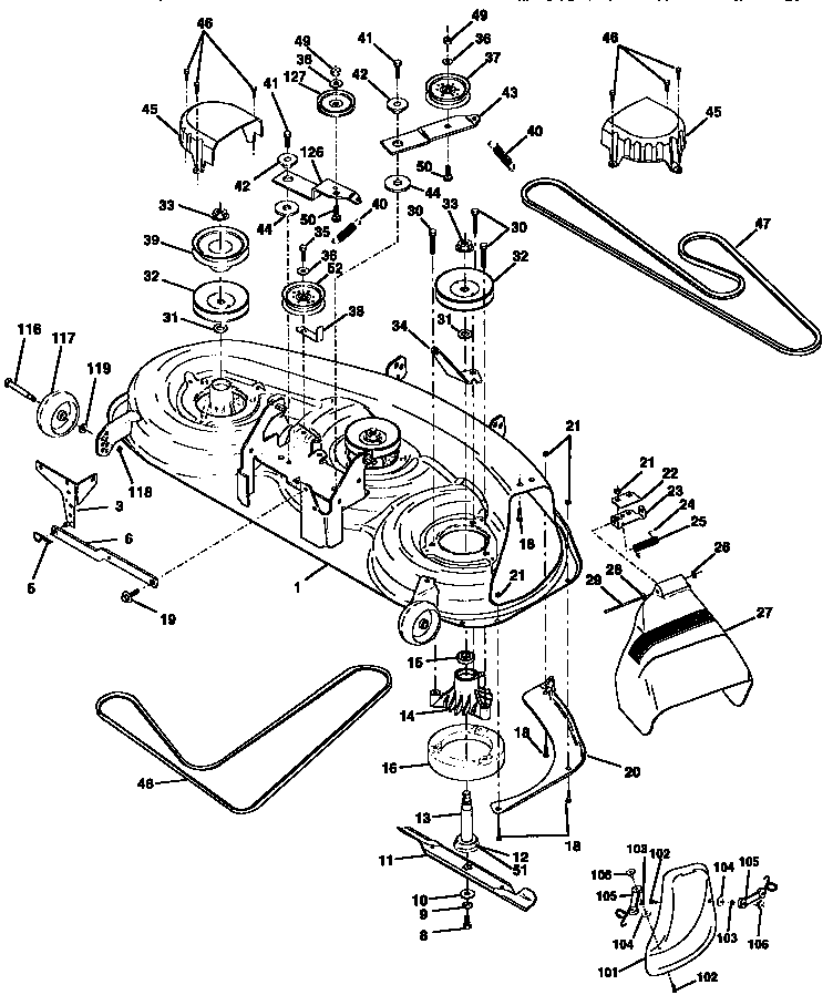 Craftsman Dys 4500 Riding Mower Parts Diagram, Craftsman