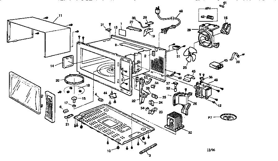 Microwave Parts List