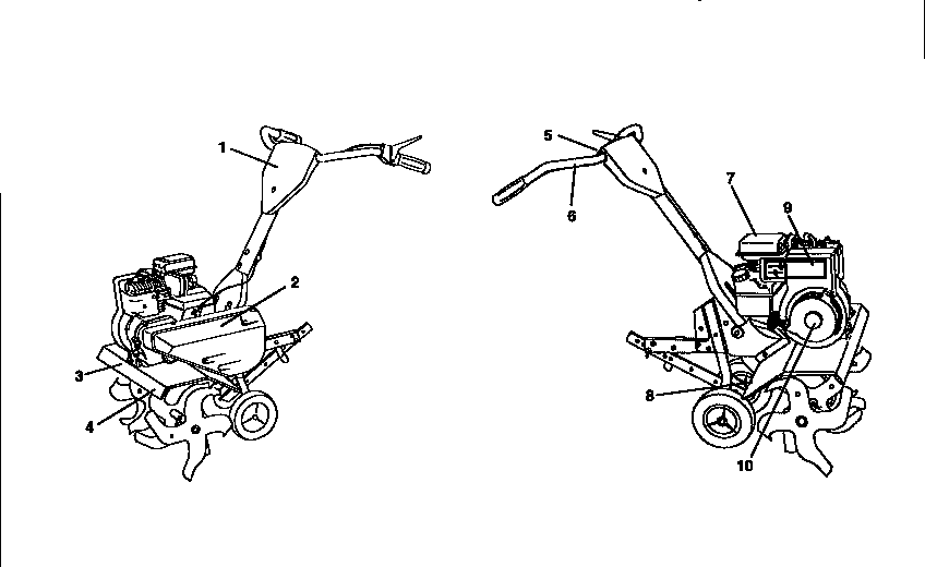 CRAFTSMAN Tiller Belt guard and pulley ass Parts