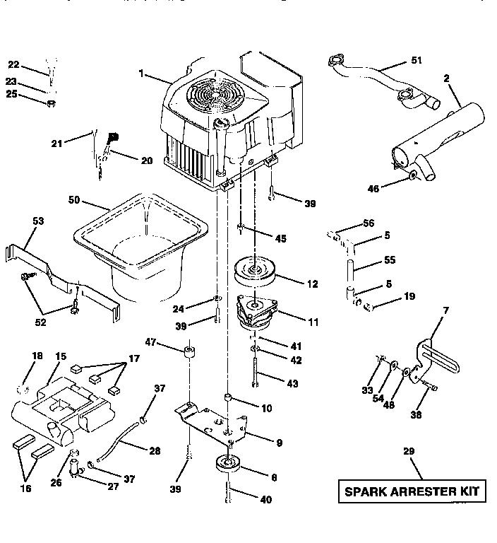 Craftsman Engine Diagram