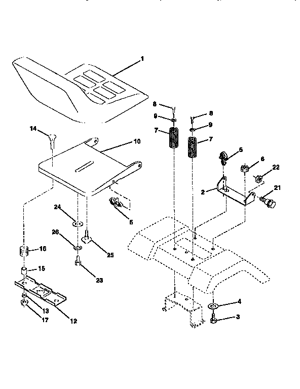 Wiring Diagram For Sears St 16 Lawn Tractor
