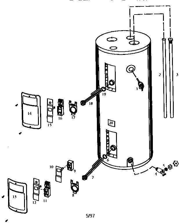 REPLACEMENT PARTS Diagram & Parts List for Model 153324260