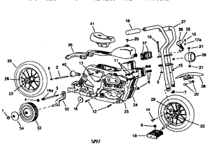 UNIT PARTS Diagram & Parts List for Model 6358 RoadmasterParts BicycleParts | SearsPartsDirect