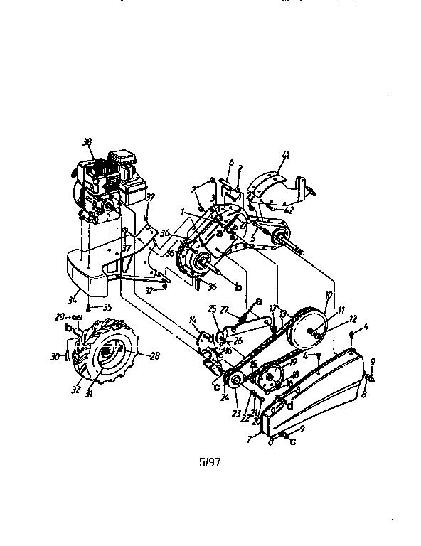 Mtd Rear Tine Tiller Engine, Mtd, Free Engine Image For